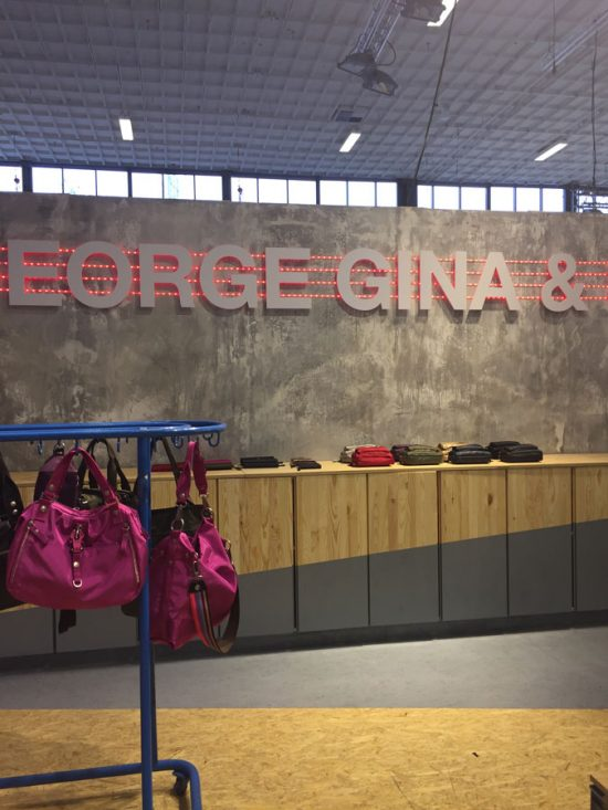 Messestand George Gina & Lucy, Panorama Berlin
